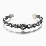 Titanium Skeleton Bangle Bracelet