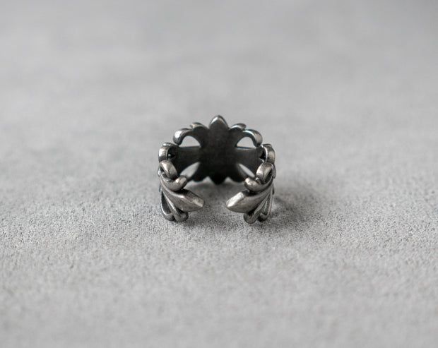 Floral Ring 316 Stainless Steel, Gothic, Punk, Rock Ring