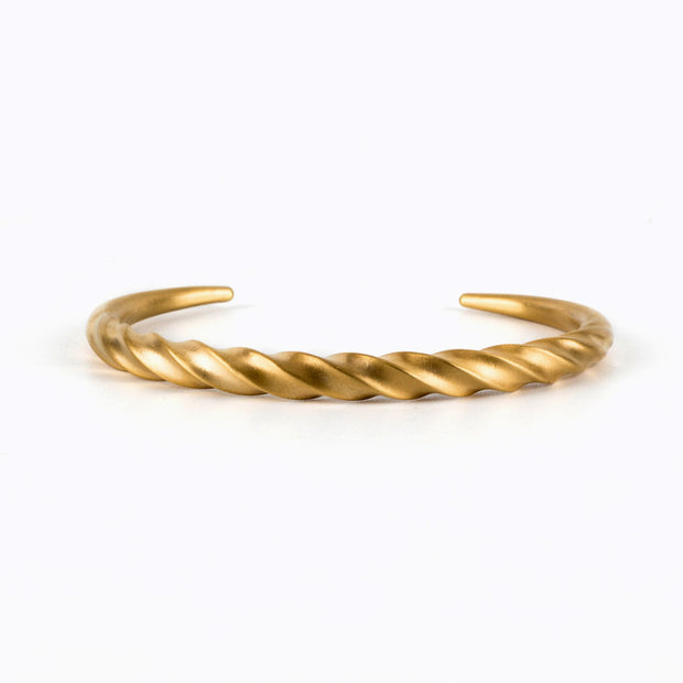 Minimalist Norse Viking Style Screw Bangle Cuff Bracelet
