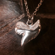 Shark Tooth 925 Sterling Silver Pendant
