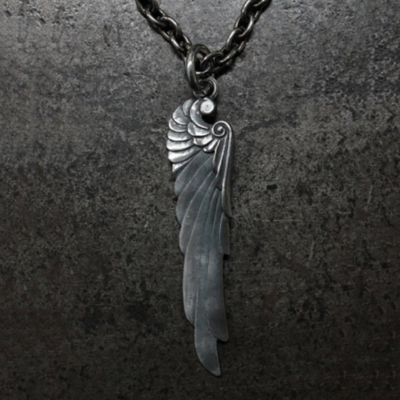 Angel Wing 925 Sterling Silver Pendant