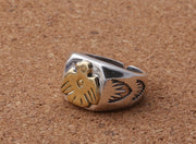 Eagle Dragon Claw Adjustable Open Ring