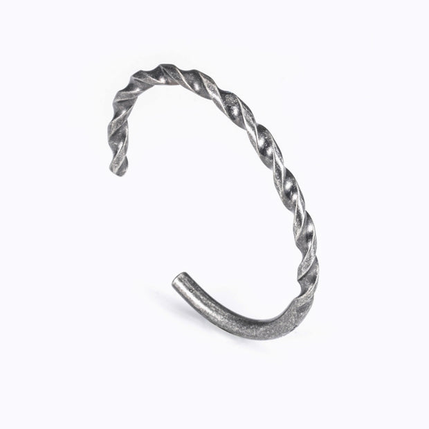 Minimalist Screw Bangle Cuff Bracelet