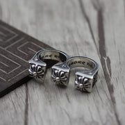 Chrome Hearts Style Plus Knuckle Ring Solid 925 Sterling Silver