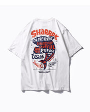 Sharrrk on the Verge Graphic Tee