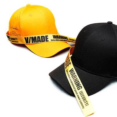 V/MADE Long Strap Tail Swag K-pop Baseball Cap
