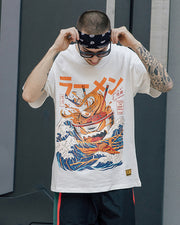 Japanese Noodle Cup Graphic Tee