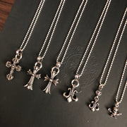 CH Pendant Necklace Collection 925 Silver Cross