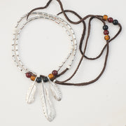 Red Tailed Eagle Feather Pendants
