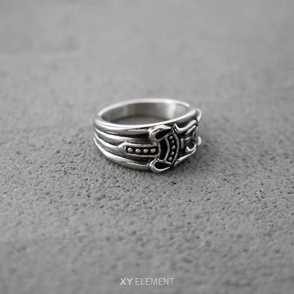 Titanium Steel Dagger Ring