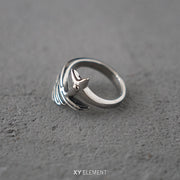 Wing Ring High Quality Titanium Steel