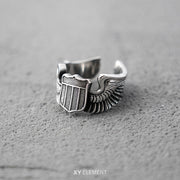 WWII US Army Air Force Flying Tigers Pilot Wings Ring