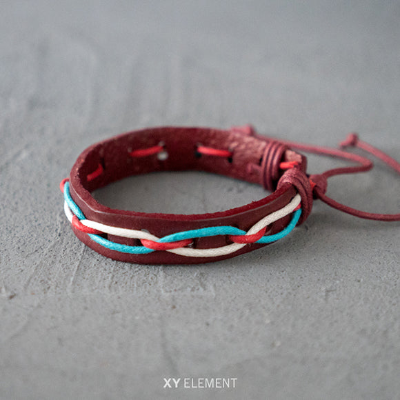 Stylish Leather Bracelet