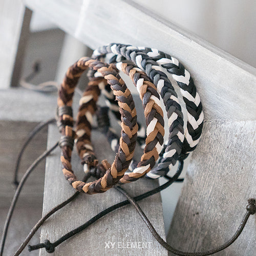 Styling Braided Leather Bracelet