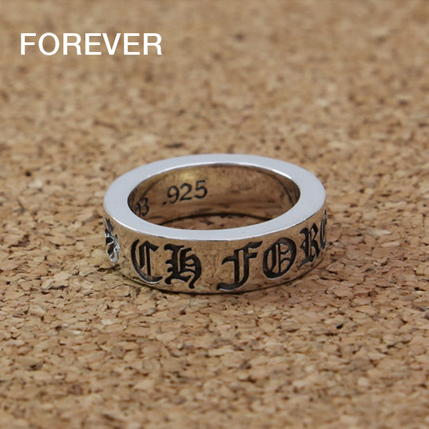 FOREVER Ring FUCK YOU Ring 925 Sterling Silver