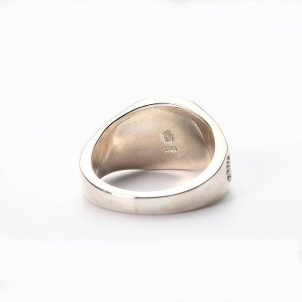 18K Gold Japanese Rose Silver Ring Rosa Multiflora Rose Ring