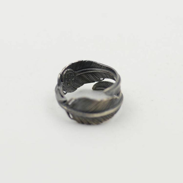 Silver Feather Handschwinge 風切りフェザー Kazekiri Feather Ring