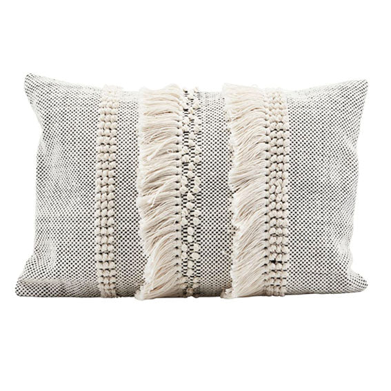 Knot & Tassel Cushion Cover