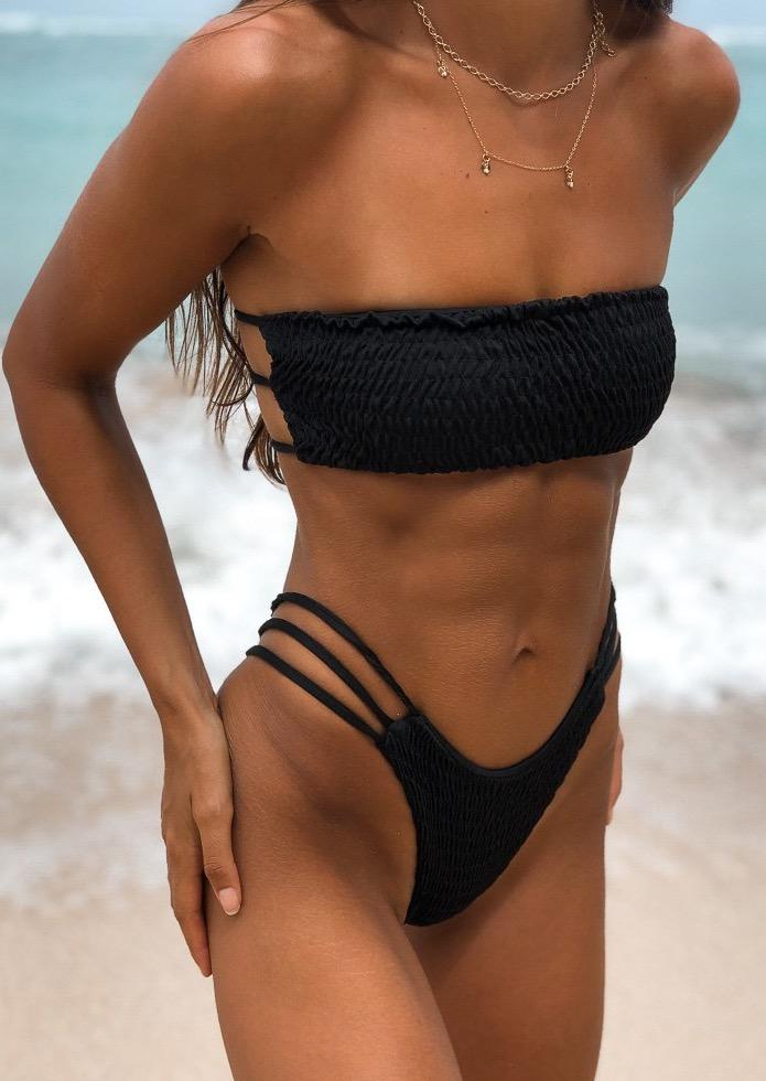 Capri Top- Black - Sabi Swimwear