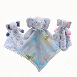 Elephant Baby Soothe Towel
