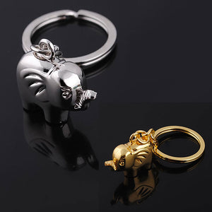 Small Elephant Keyring