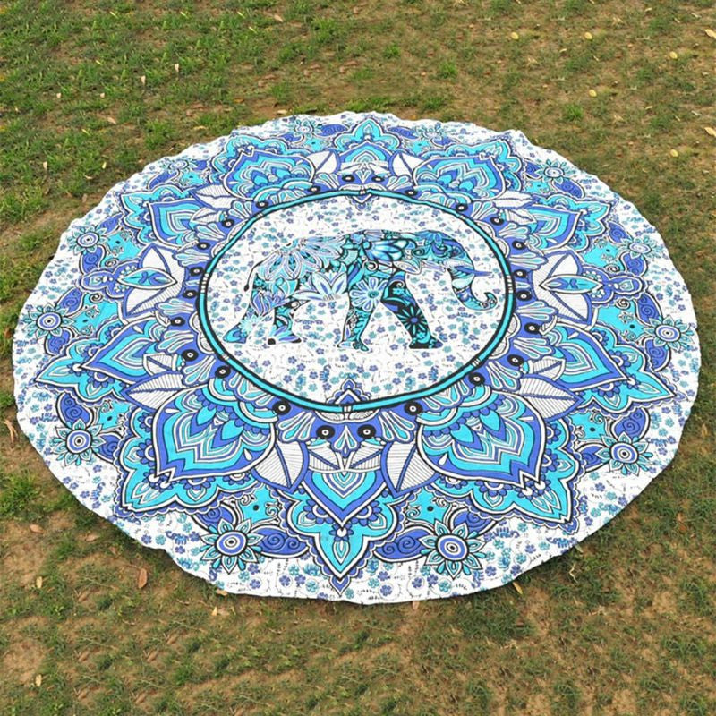 Mandala Elephant Throw