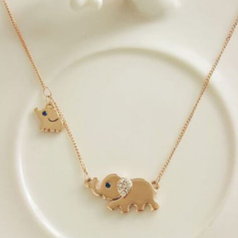 Small Elephant Necklace