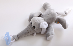 Baby Pacifier With Elephant  Toy