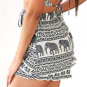 Summer High Waist Elephant Shorts