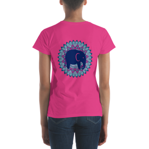 Blue Mandala short sleeve t-shirt