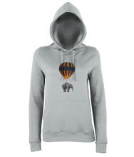 Hot Air Balloon Elephant Hoodie
