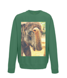 Bottle Green - Elephant Kiss Sweater