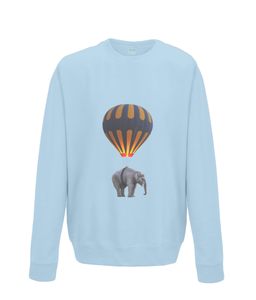Hot Air Balloon Elephant Sweater