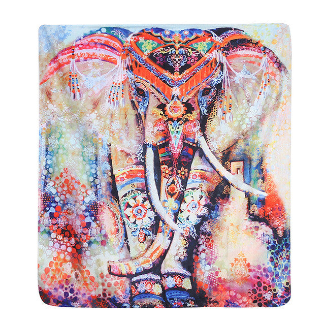 Watercolour Elephant Wall Hanging