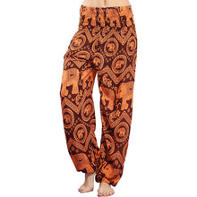 Orange - Boho Harem Indian Trousers/Pants
