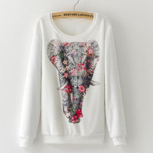 Soft Elephant Sweater for Women