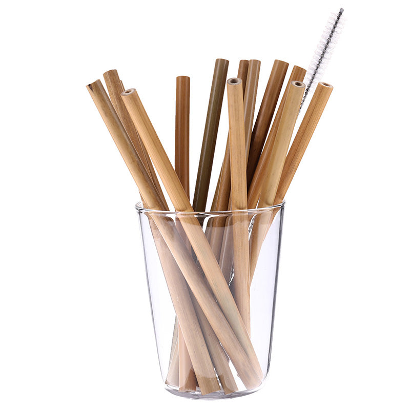 10 Eco-Friendly Bamboo Straws