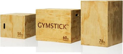 Gymstick Houten Plyo Box 3-in-1
