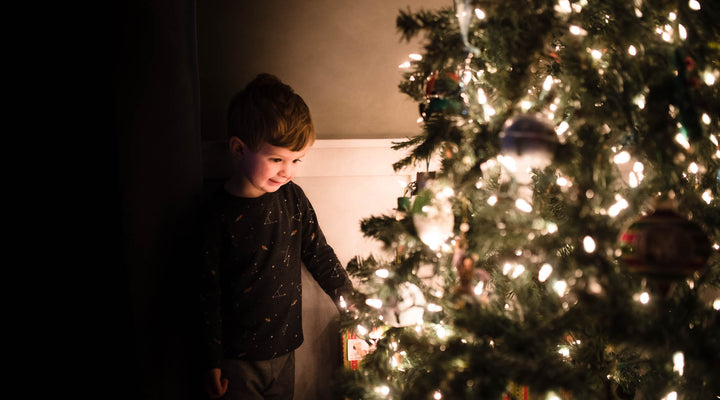 How to enhance Christmas tree photos in Lightroom