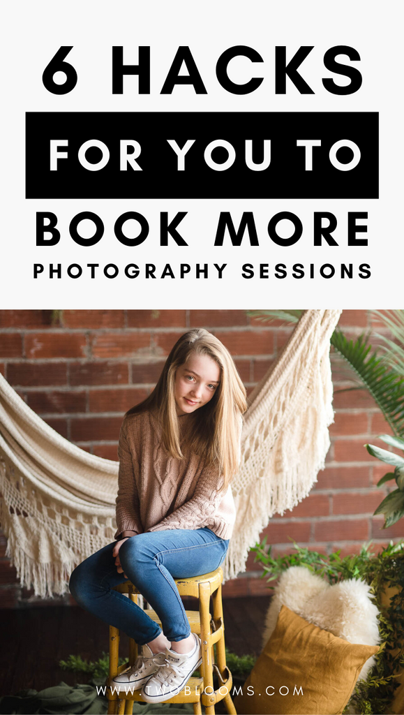 HOW TO BOOK MORE PHOTO SESSIONS