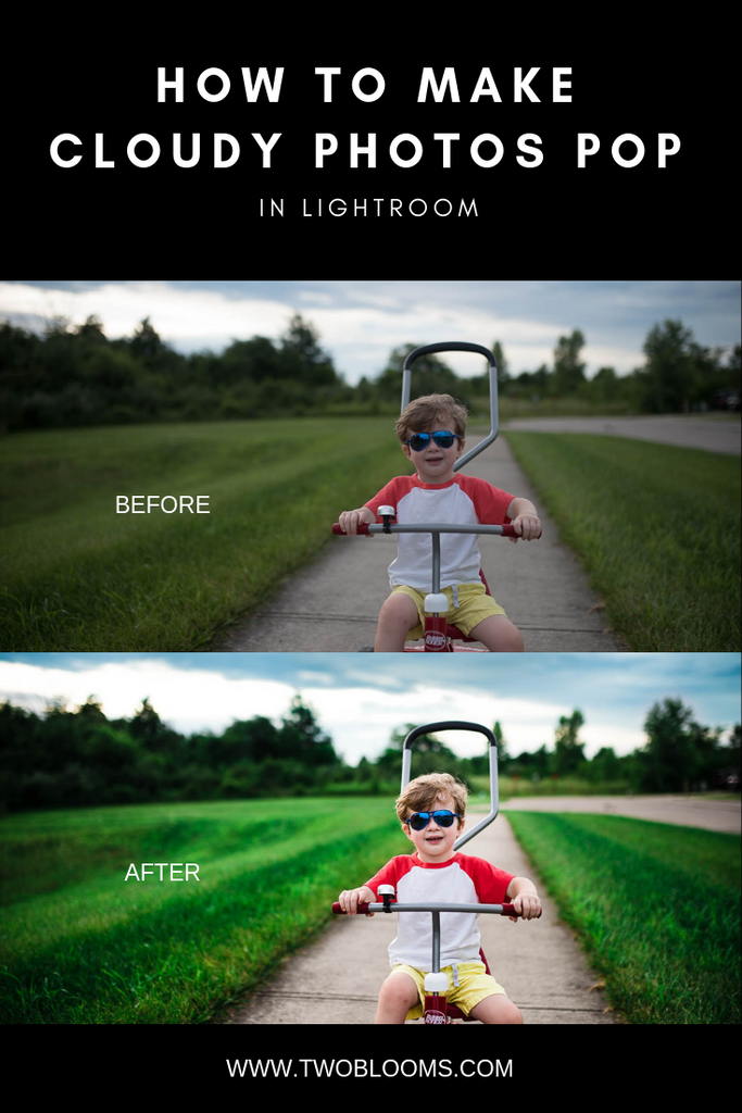 how to edit cloudy photos in Lightroom - Lightroom tutorial