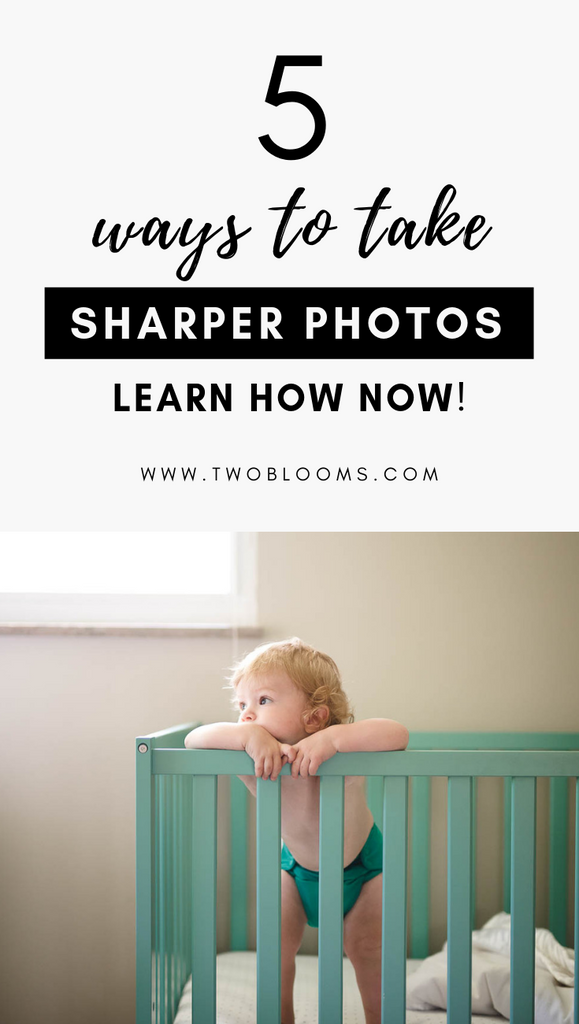 how to take sharp photos