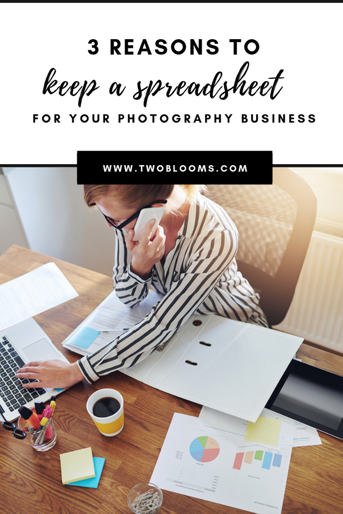 tax spreadsheets for photography