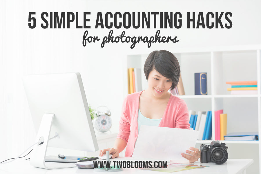 5 simple accounting tips for photographers