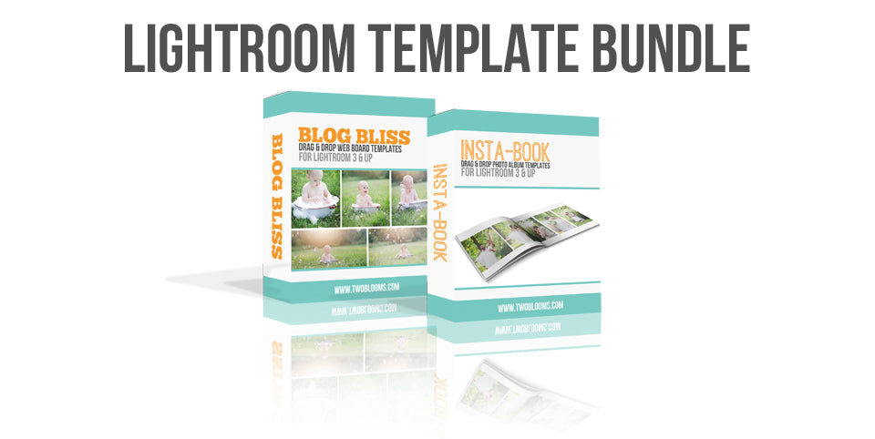 Lightroom template bundle