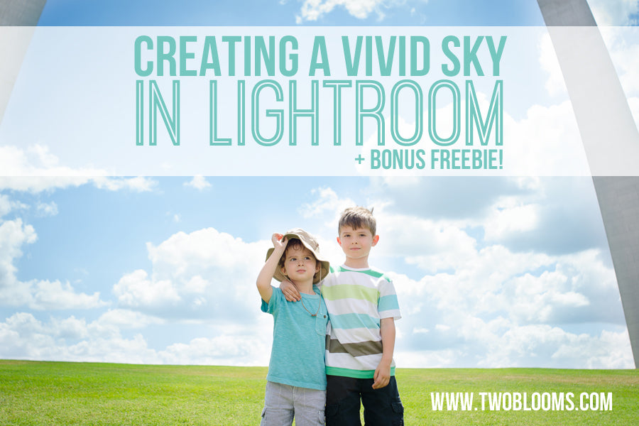 creating a vivid skin in Lightroom + Freebie!