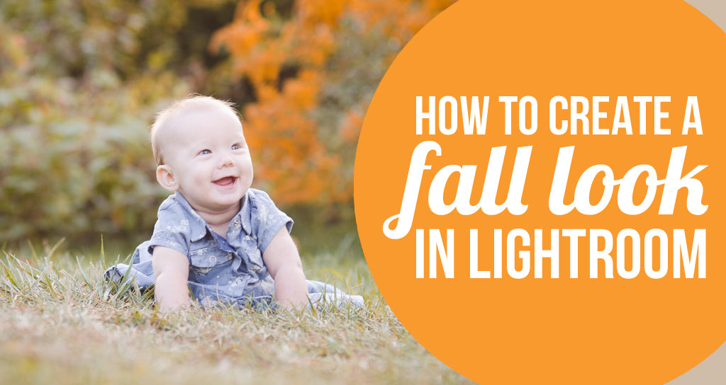 how to create a fall look in lightroom