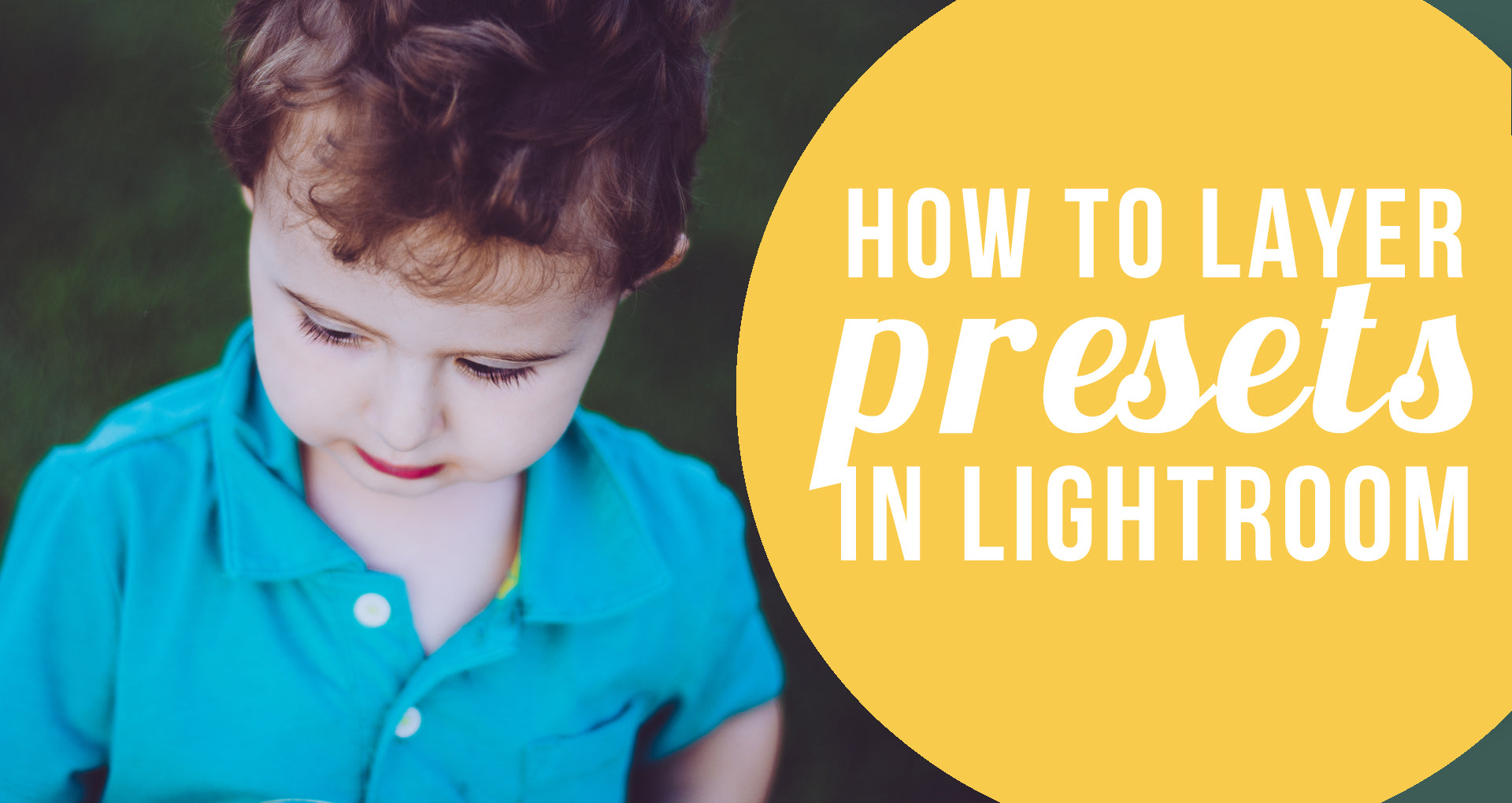 how to layer presets in lightroom