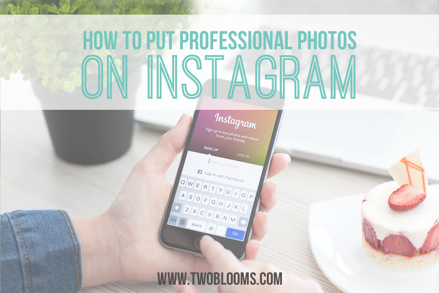 how to put photos on instagram