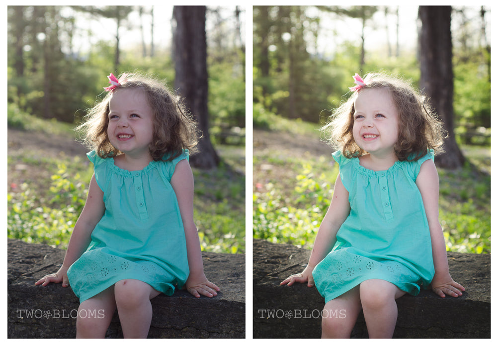 lightroom edit before and after 2